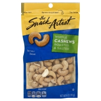 The Snack Artist Nuts Cashews Whole Roasted & Salted