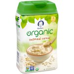 Gerber Organic Single-Grain Oatmeal Baby Cereal, 8 oz