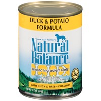 Natural Balance Limited Ingredient Diets Duck & Potato Formula Dog Food