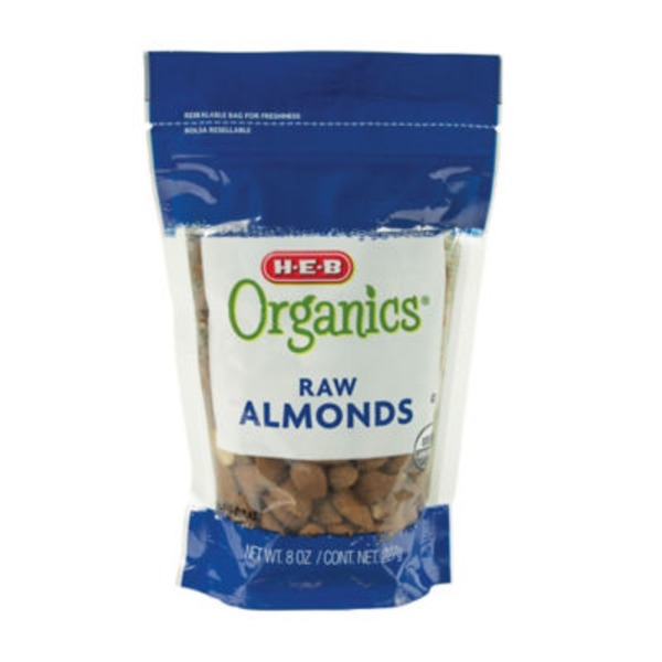 H-E-B Organic Raw Almonds