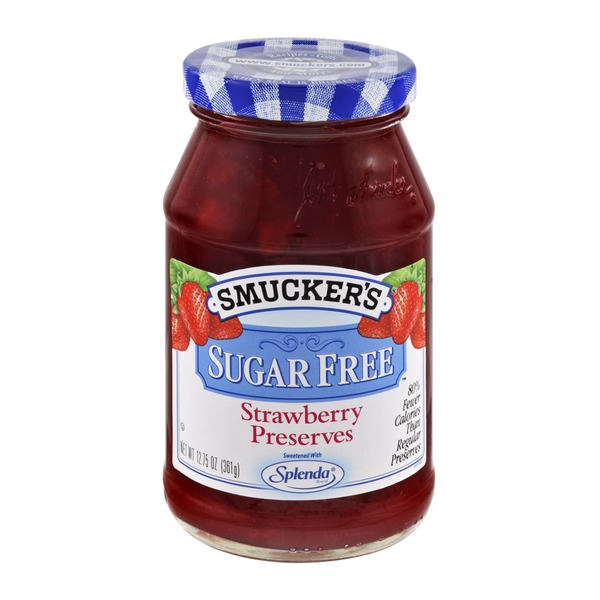 Smucker's Sugar Free Preserves Strawberry