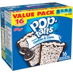 Kellogg's Pop-Tarts Frosted Cookies & Creme Toaster Pastries, 16 ct
