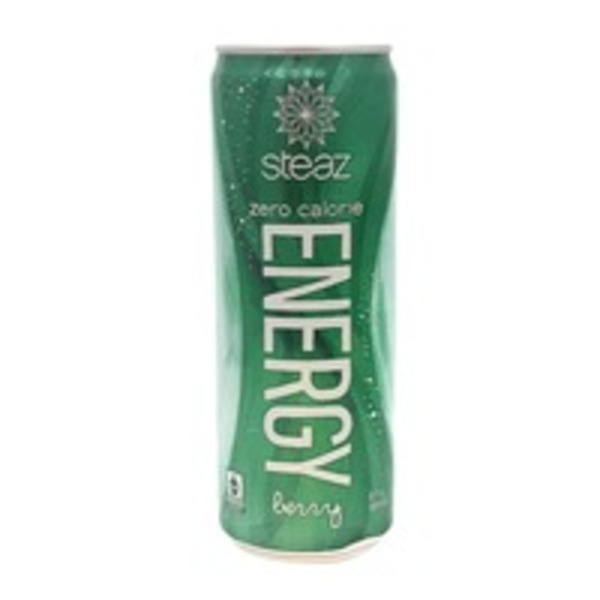 Steaz Berry Zero Calorie Energy Drink