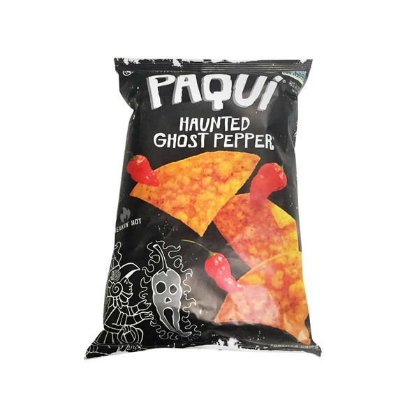 Paqui Haunted Ghost Pepper Tortilla Chips