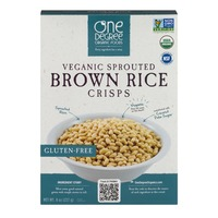 One Degree Organics Veganic Sprouted Brown Rice Crisps