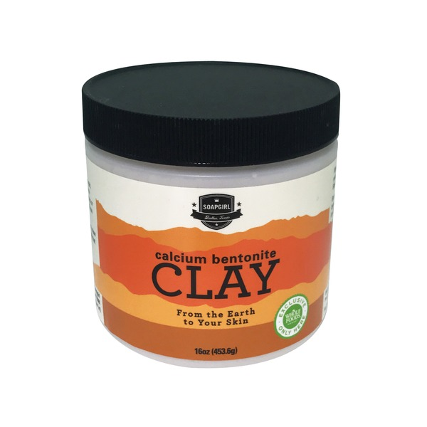 Soapgirl Calcium Bentonite Clay