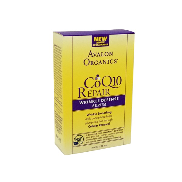 Avalon Organics CoQ10 Repair Wrinkle Defense Serum