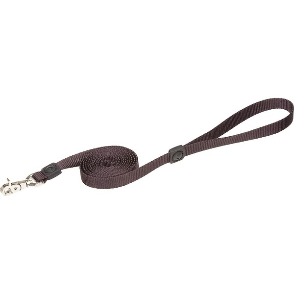 Petmate Coal Nylon Leash 5/8