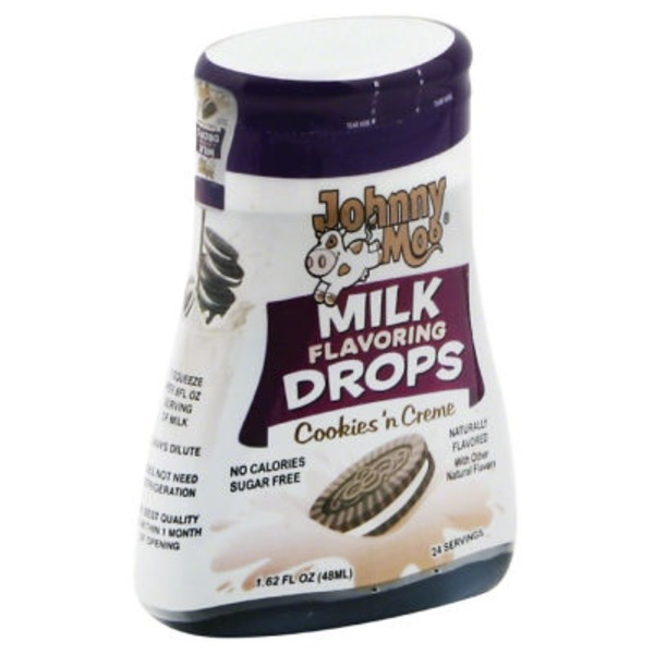 Johnny Moo Cookie N Creme Milk Flavoring Drops