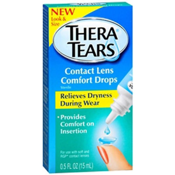Thera Tears Contact Lens Comfort Drops