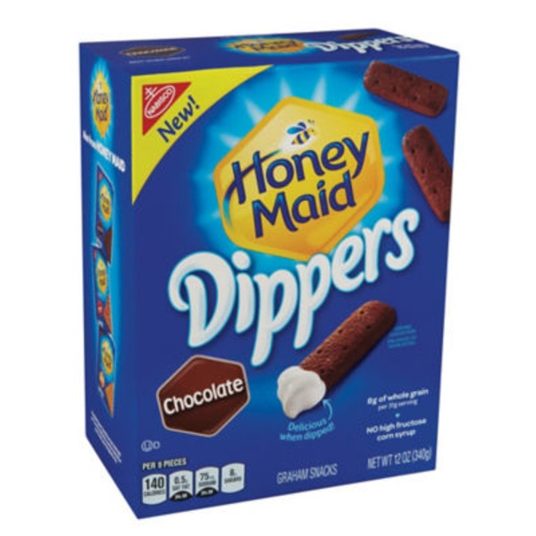 Honey Maid Dippers Chocolate Graham Snacks