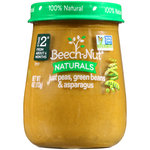 Beech-Nut Naturals Just Peas Green Beans & Asparagus Stage 2 Baby Food