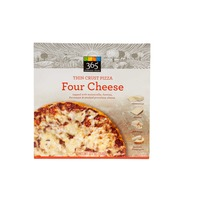 365 Everyday Essentials Four Cheese Thin Crust Pizza