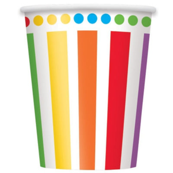 Unique Rainbow Birthday Cup