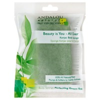 Andalou Naturals Beauty Is You All Over Perfecting Green Tea Konjac Body Sponge