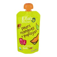 Ella's Kitchen Super Smooth Puree From 4 Months Pears, Mangoes + Papayas