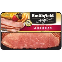 Smithfield Anytime Anytime Favorites Hickory Smoked Boneless Sliced Lean Ham