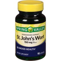 Spring Valley St.John's Wort Capsules, 150 mg, 90 Ct