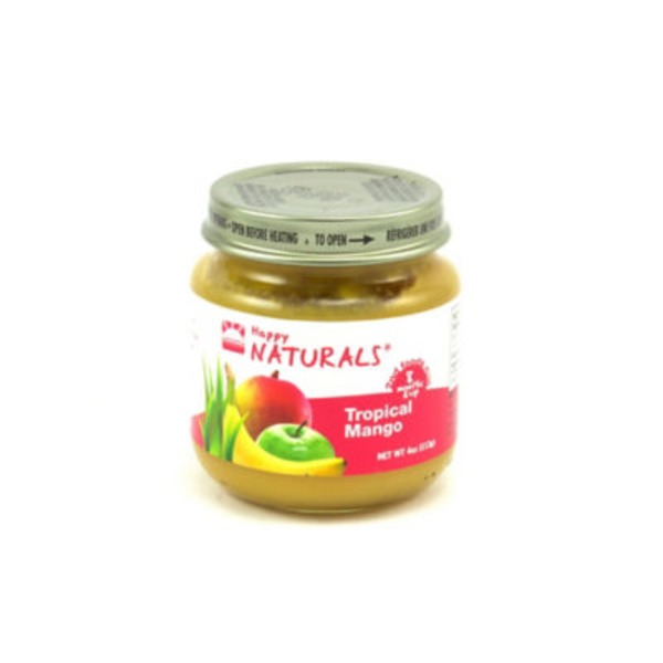 Happy Naturals 2nd Foods Chunky Mango Blend Baby Food