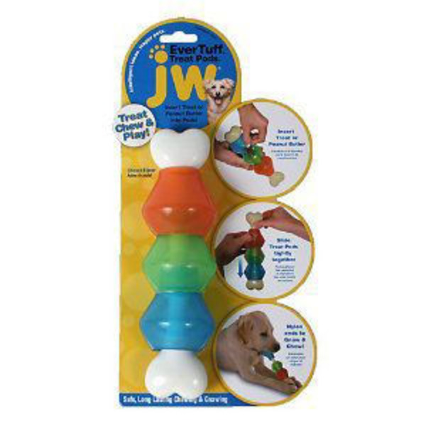 JW Pet Treat Pod Dog Toy Small