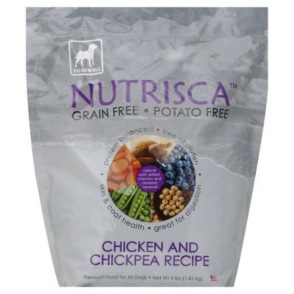 Dogswell Nutrisca Chicken And Chickpea Recipe Dog Food