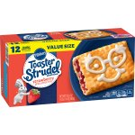 Pillsbury Toaster Strudel Strawberry Toaster Pastries Value Pack, 12 Ct, 23.4 oz, 23.4 OZ