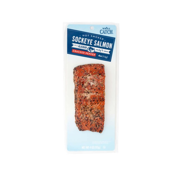 Whole Catch Hot Smoked Salmon Pepper
