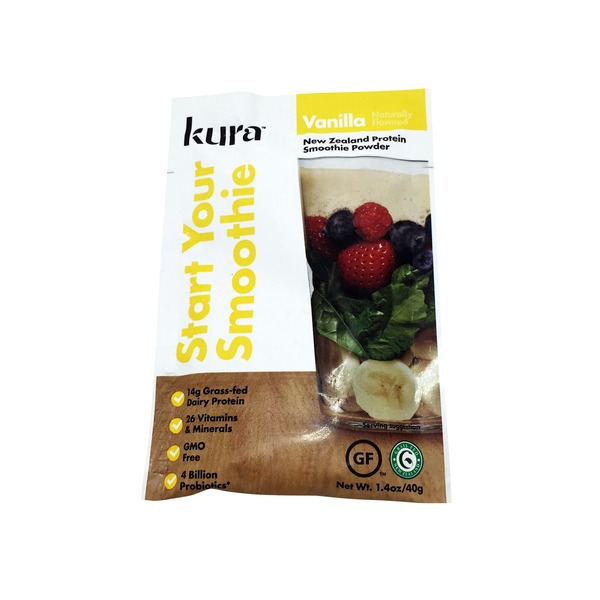 Kura Nutrition Vanilla Protein Smoothie Powder