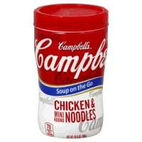 Campbells Soup On The Go Chicken With Mini Noodles Soup