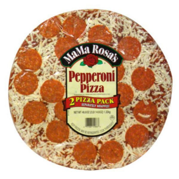 MaMa Rosa's Take-N-Bake Pepperoni Pizza - 2 CT