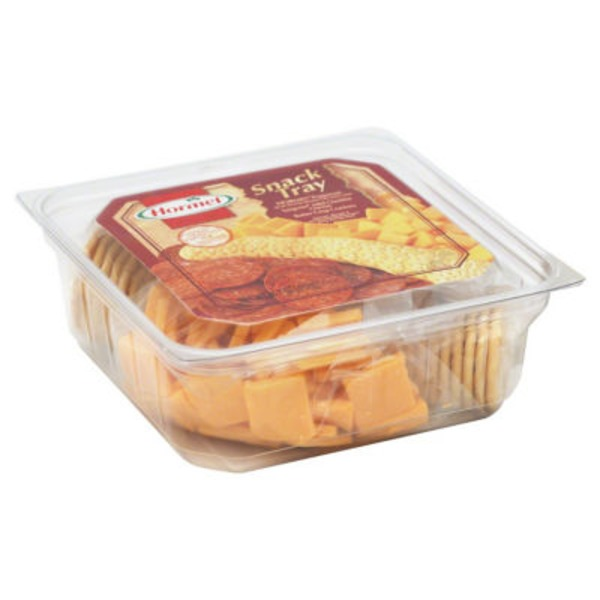 Hormel Gatherings Pepperoni Cheese & Crackers Snack Tray