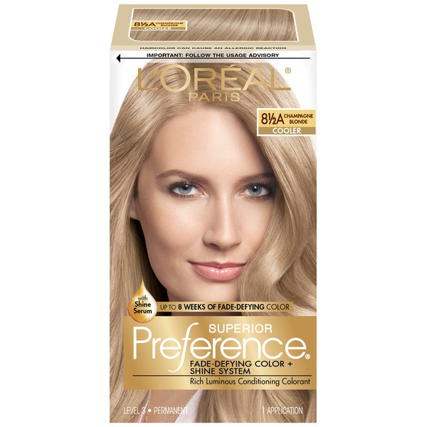 Superior Preference Cooler 8-1/2A Champagne Blonde Hair Color
