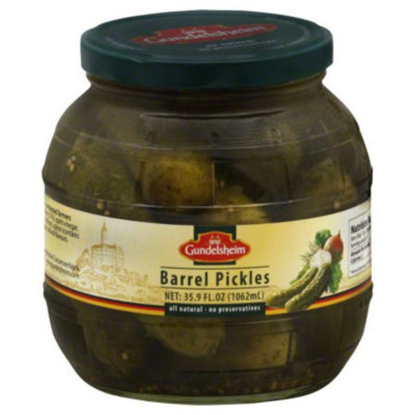 Kuhne Kosher Barrel Pickles