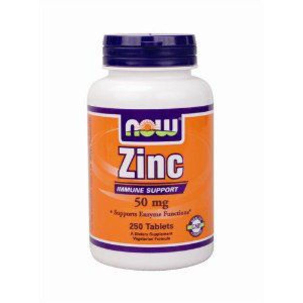 Now Zinc 50 Mg Tablets