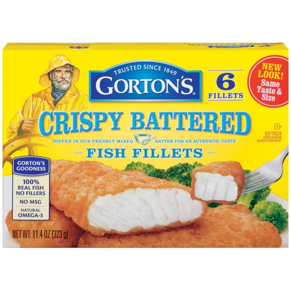 Gorton's Crispy Battered Fish Fillets