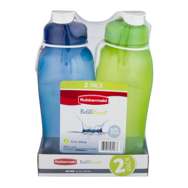 Rubbermaid Refill Reuse Bottles - 2 CT
