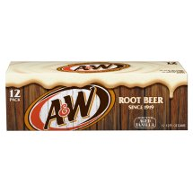 A&W Root Beer, 12 fl oz, 12 pack