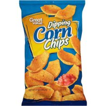Great Value Dipping Corn Chips 10 oz. Bag