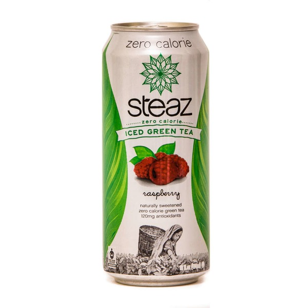 Steaz Zero Calorie Iced Teaz Raspberry Green Tea