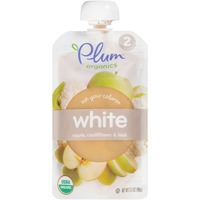 Plum Organics Stage 2 White Organic Baby Food