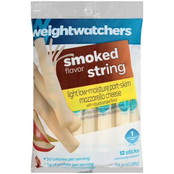 Weight Watchers String Light Smoked Flavor Cheese