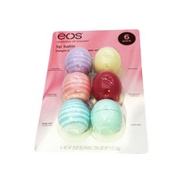 Eos Organic Lip Balm 6 Count Variety Pack