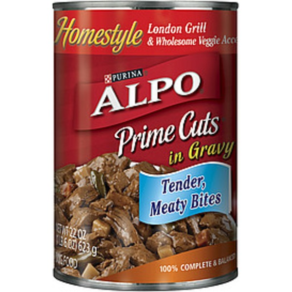 Alpo Prime Cuts Homestyle London Grill In Gravy Dog Food