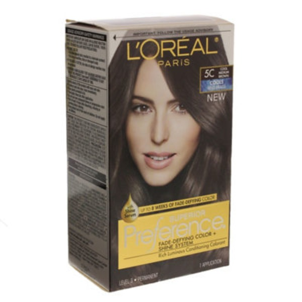 Superior Preference Cools Anti-Brass 5C Cool Medium Brown Hair Color