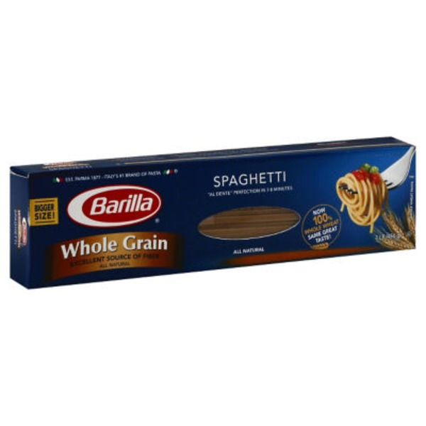 Barilla Whole Grain Spaghetti Pasta