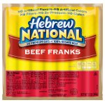 Hebrew National Beef Franks, 12 Ounce