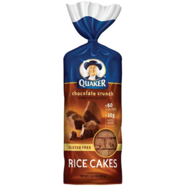 Quaker Rice Cakes Chocolate Rice Cakes