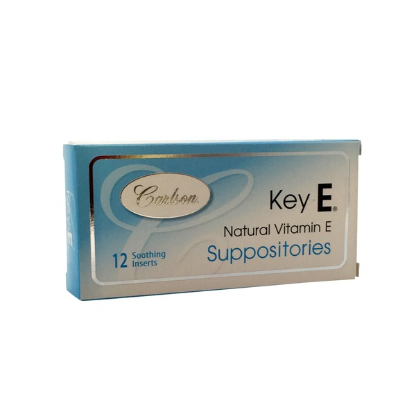 Carlson Labs Key E with Natural Vitamin E Suppositories