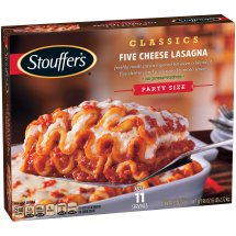 STOUFFER'S Party Size Five Cheese Lasagna 96 oz Box