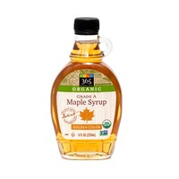 365 Organic Grade A Light Amber Maple Syrup